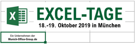 Excel-Tage 18.-19. Oktober 2019